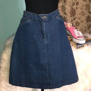 Woolrich Denim Skirt